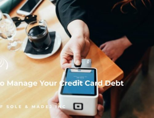 How to Manage Your Credit Card Debt